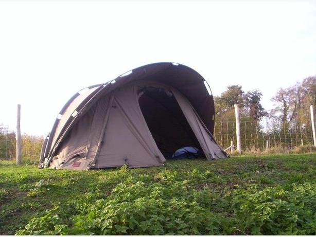 Angling intelligence one man bivvy