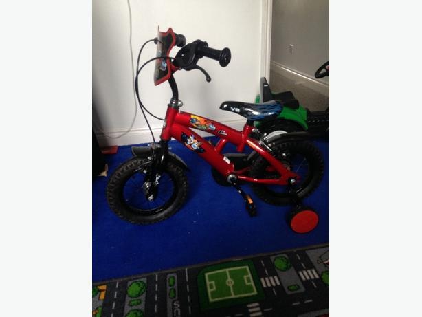 12inch v8 kids bike