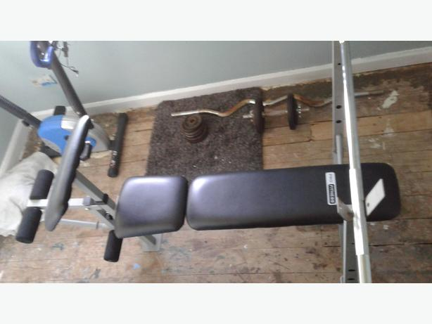 pro sport weight lifting bench