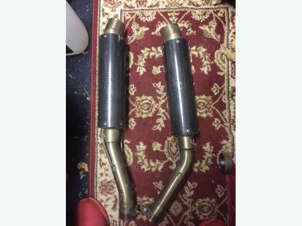 06-08 yamaha r1 exhaust