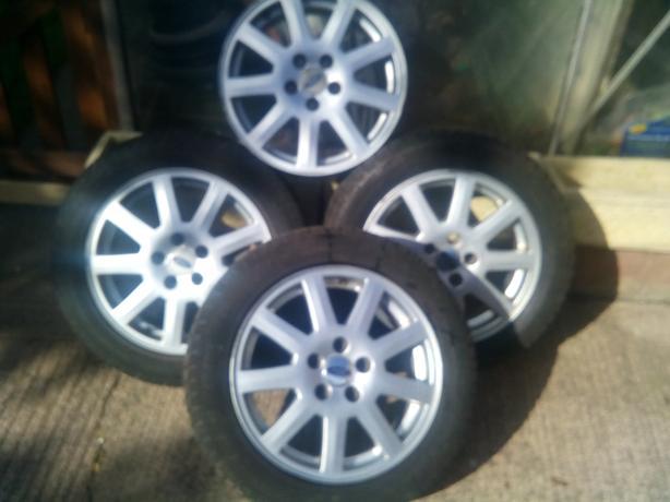 Mondeo wheels