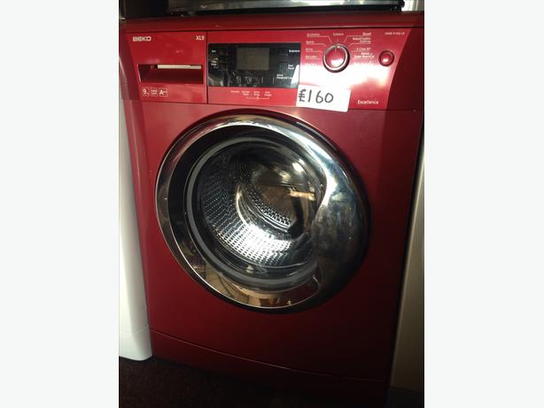 BEKO RED 9KG WASHING MACHINE039