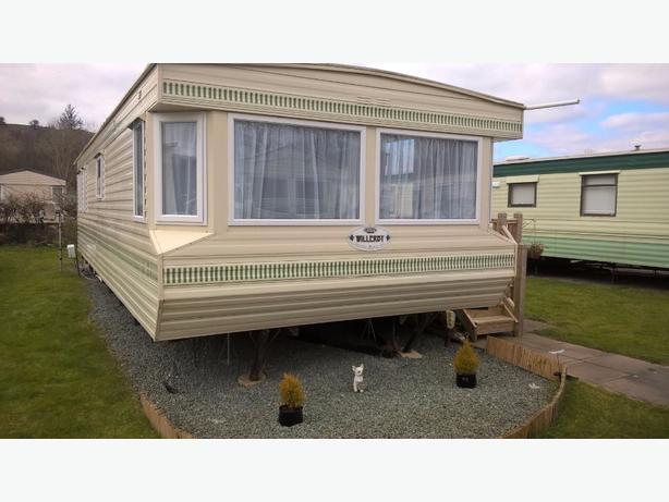 Beautiful sited static caravan for sale