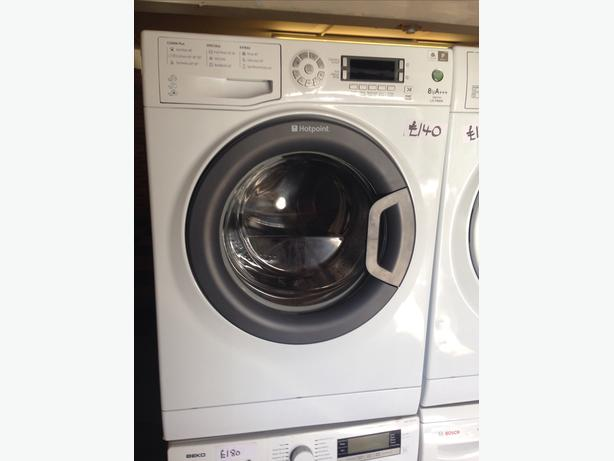 HOTPOINT 8KG LCD DISPLAY WASHING MACHINE