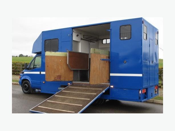2001 Y reg Iveco Daily coach built 6.5 ton