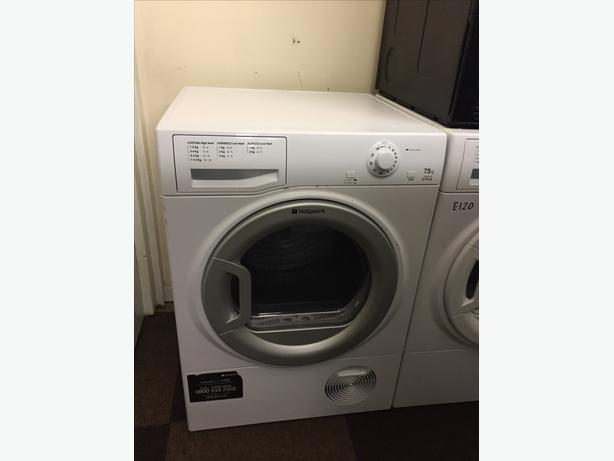 LOVELY HOTPOINT 7.5 KG CONDENSER DRYER WITH GUARANTEE
