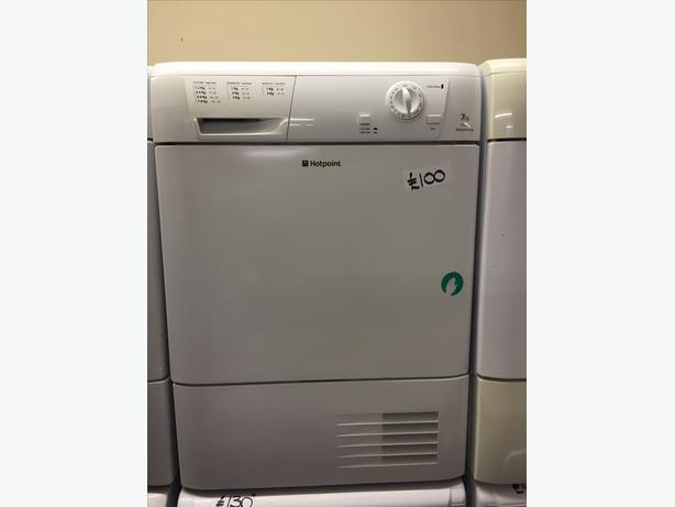 GREAT CONDITION 7KG HOTPOINT CONDENSER DRYER WITH GUARANTEE
