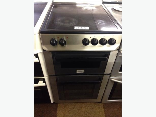 ZANUSSI 50CM FAN ASSISTED ELECTRIC COOKER