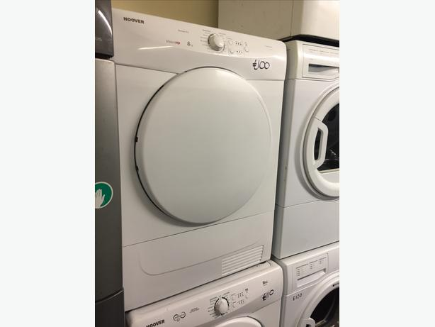 SPECIAL OFFER 8 KG HOOVER CONDENSER DRYER WITH GUARANTEE
