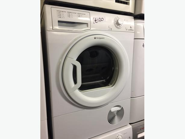 HOTPOINT EXCELLENCE 8 KG CONDENSER DRYER WITH GUARANTEE