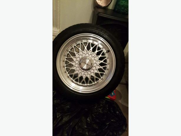 "lenso 15"" 4 stud alloys"