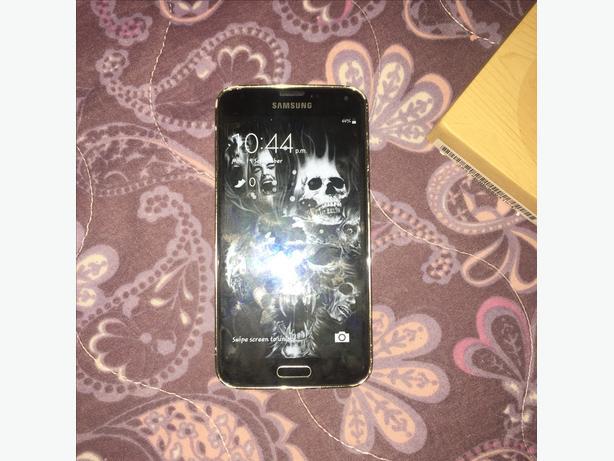 Samsung s5 unlocked 16gb grey colour