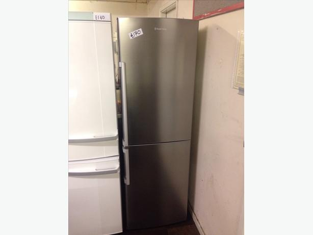 STAINLESS STEEL FRIDGE FREEZER0