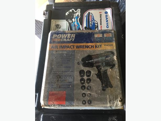 powercraft air impact wrench kit