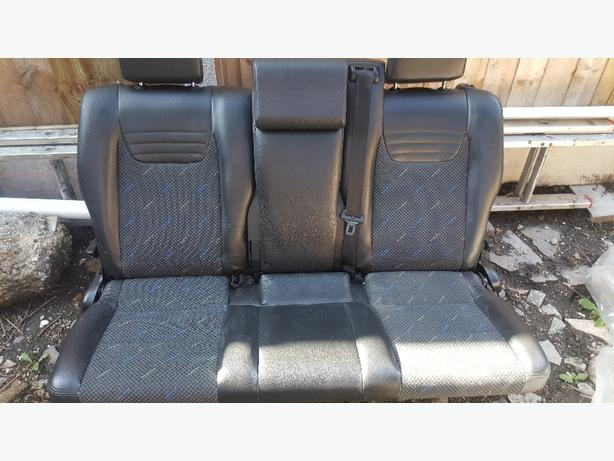 zafira gsi rear seats
