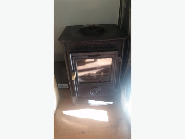 montrose log burner