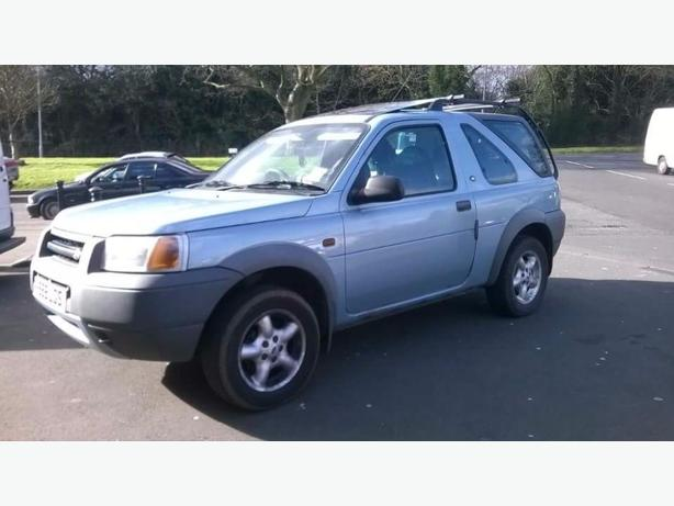 freelander 1.8 baby blue ragtop version