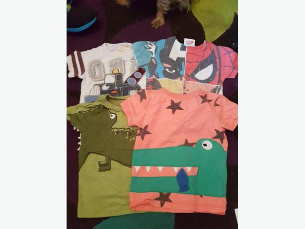 large bundle of 12-18 months boys clothes