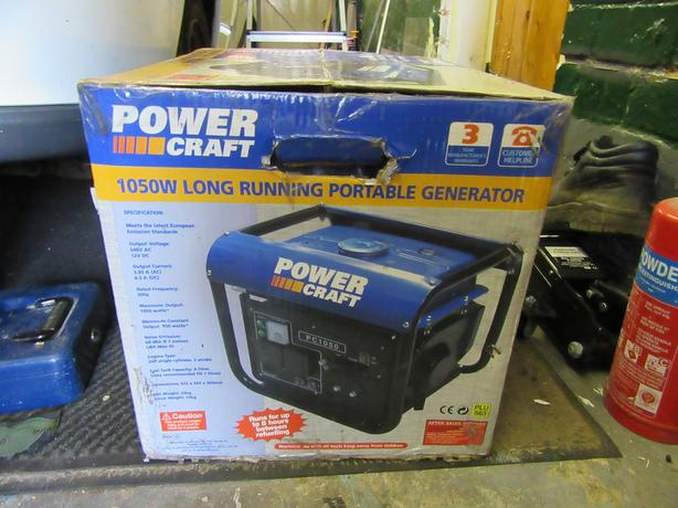 Portable long running generator...