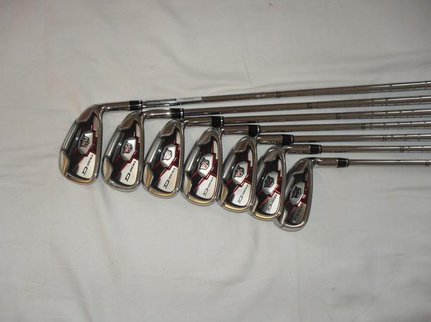 Wilson  D200 Staff irons
