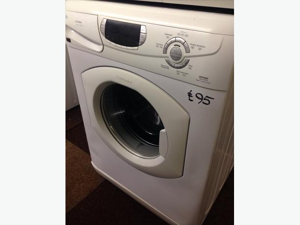 HOTPOINT SUPER SILENT ULTIMA 6KG WASHING MACHINE1