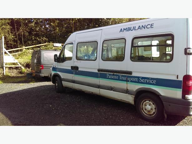 . Renault Master ex ambulance
