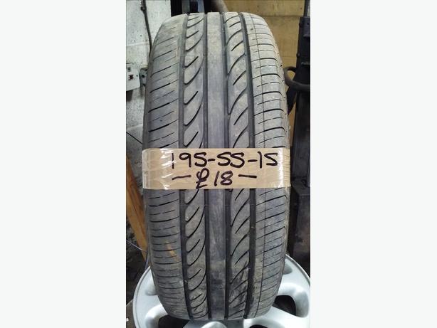 195-55-15 Silverstone 85V 4mm Part Worn Tyre