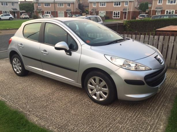 2006 PEUGEOT 207 S SILVER