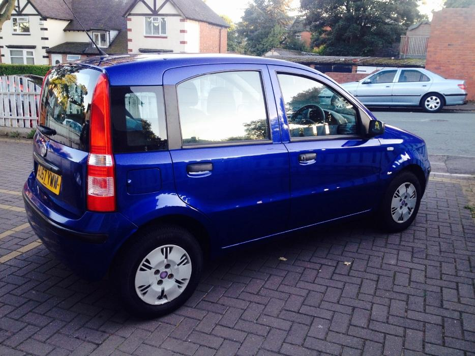 fiat panda 1 2 automatic 2007 bargain walsall dudley. Black Bedroom Furniture Sets. Home Design Ideas