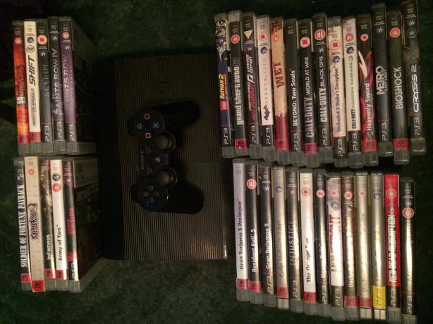 PS3 CONSOLE PLUS 37 GAMES