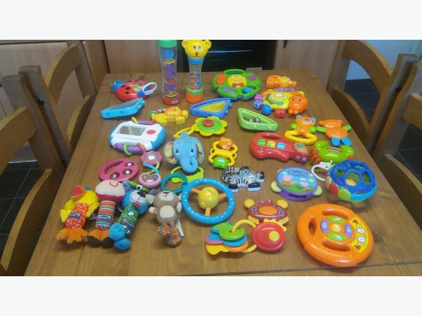 selection baby toys
