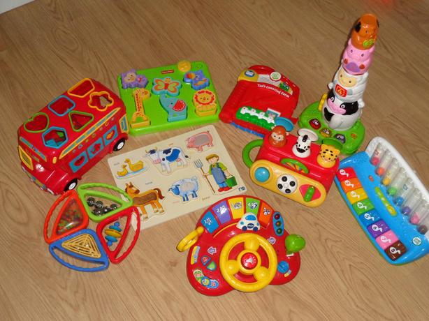 Leap Frog, Fisher Price Vtech, ELC and Mothercare Toddler Tots