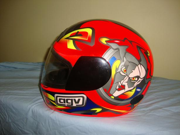 MOTORCYCLE CRASH HELMET  AGV