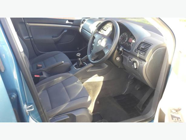 VW Golf FSI 1.6 Petrol Blue 5dr