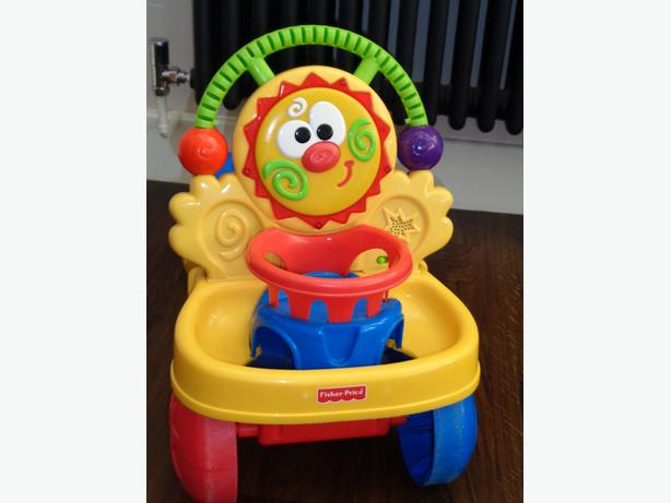 Fisher Price 2 9n 1 Sit on rider and Walker