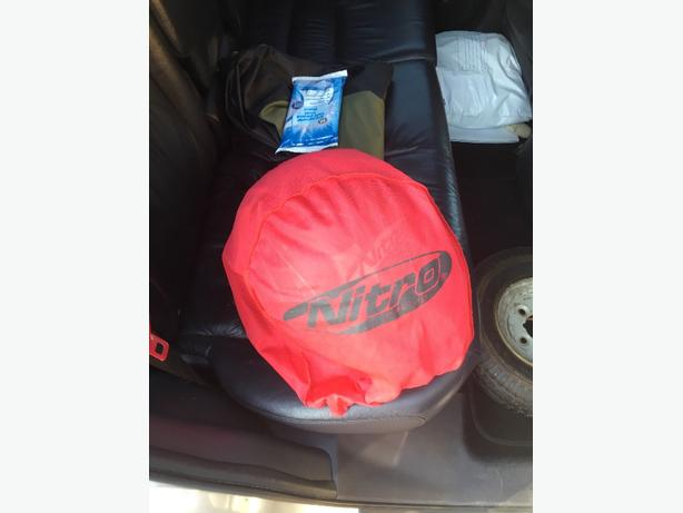 nitro bike helmet size large