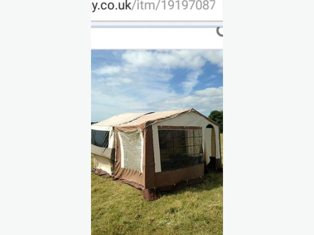 folding  camper trailer