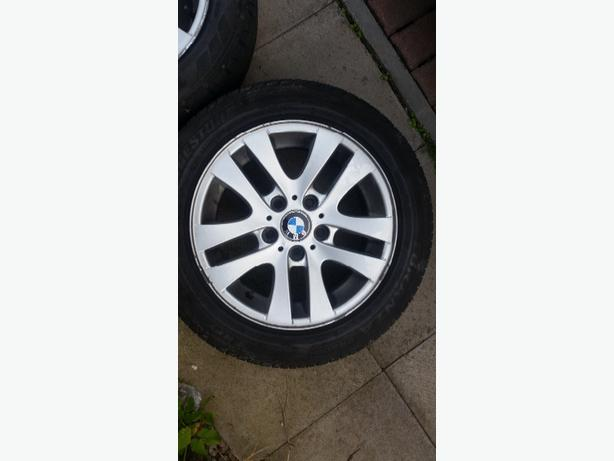 4 genuine bmw alloy wheels