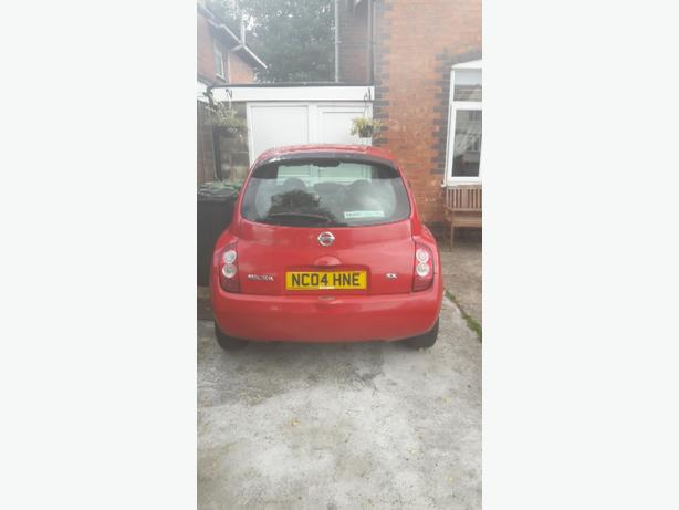 nissan micra 04 plate