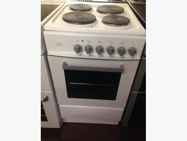 NEW WORLD 50CM SINGLE CAVITY ELECTRIC COOKER