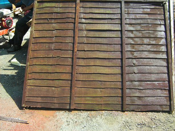 6x4 fence panels used good condition