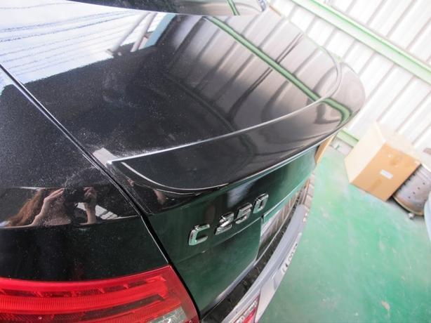 Mercedes c class boot lip