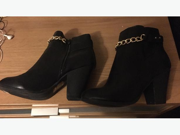 brand new boots ankle size 7 new look