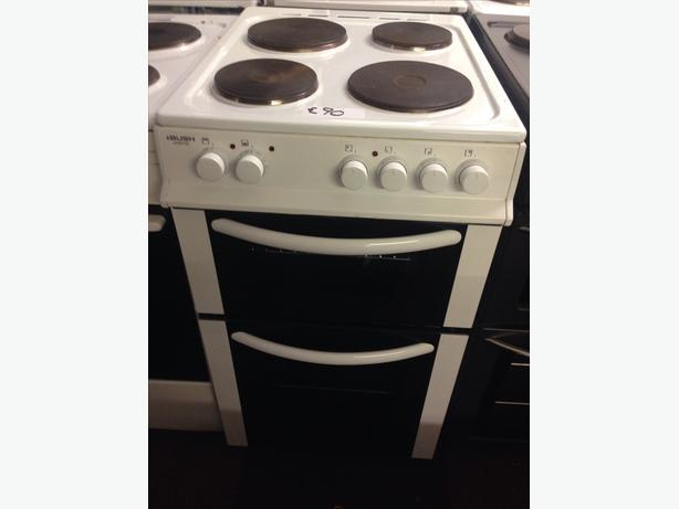 BUSH 50CM PLATED TOP ELECTRIC COOKER01