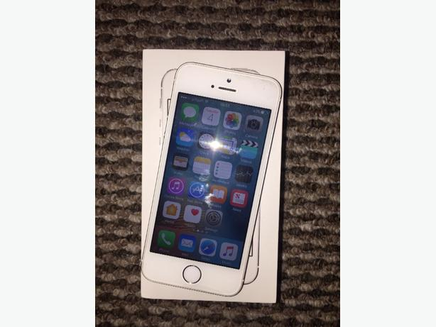 IPHONE 5S WHITE O2 16GB BOXED GOOD CONDITION