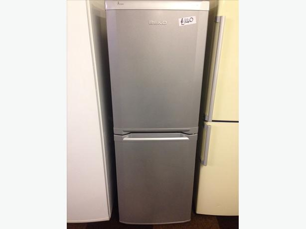 BEKO SILVER FRIDGE / FREEZER FROST FREE