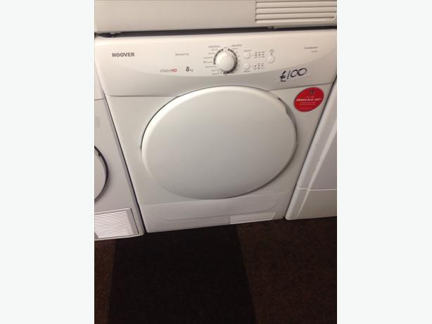 HOOVER 8KG CONDENSER DRYER2