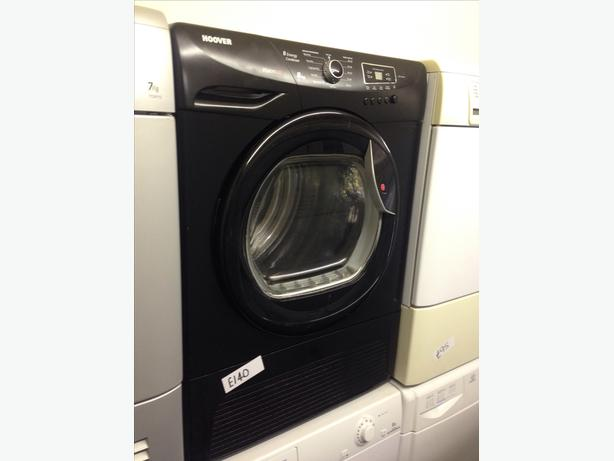 BLACK HOOVER 8KG CONDENSER DRYER3