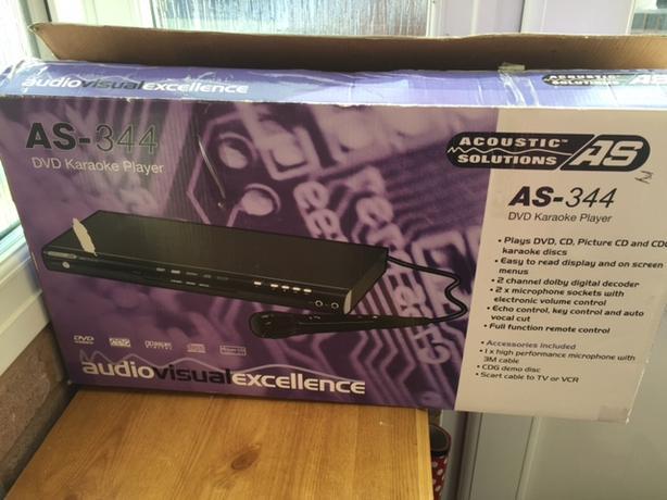 Acoustic Solutions DVD Karaoke Machine