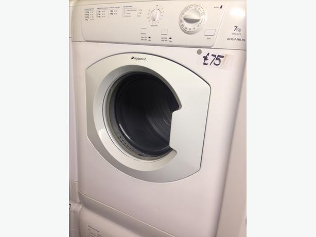 HOTPOINT 7KG VENTED DRYER1